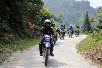 Circuit en moto à Ha Giang