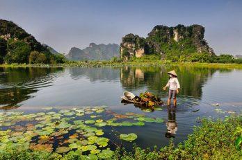 La réserve de Van Long à Ninh Binh
